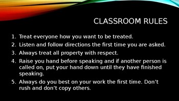 Classroom Procedures using Memes for intermediate/middle school students