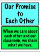 Classroom Promise Banner