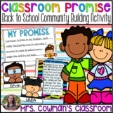 Classroom Promise- Behavior Management or Back to School Activity