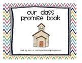 Classroom Promise Book