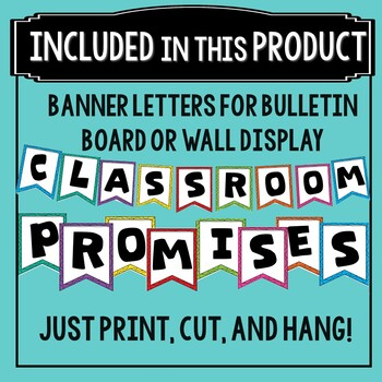 Classroom Promises- First Day Activity