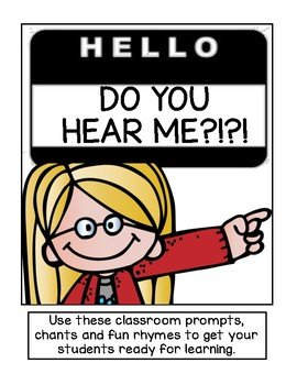 Classroom Prompts