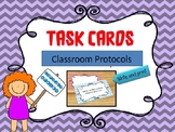 Classroom Protocol Task Cards