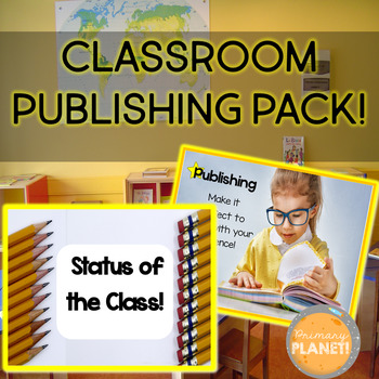 Classroom Publishing Pack for publishing student writing in your classroom!