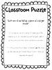Classroom Puzzle