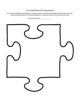 Classroom Puzzle Activity
