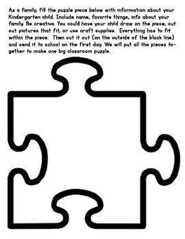 Classroom Puzzle Pieces