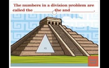 Classroom Pyramid Division Powerpoint Game