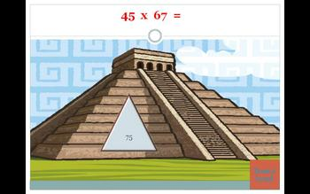 Classroom Pyramid Multiplication Powerpoint game