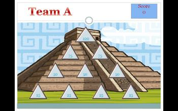 Classroom Pyramid Powerpoint Game