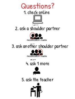 Classroom Questions Procedure