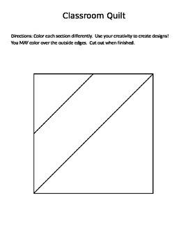 Classroom Quilt Template