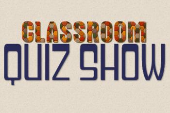 Classroom Quiz Show - 2nd Grade Language Arts Review - like Jeopardy