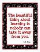 INSPIRING QUOTATIONS: Famous Quotes, Inspirational Quotes, Task Cards, Decor