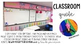 Classroom Quote: Play Fair, Be Kind, Work Hard, Dream Big
