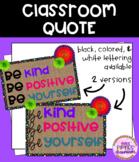 Classroom Quote