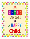 Classroom Quote - Happy Child