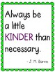 Classroom Quote Posters: 12 Classroom Posters (Simple & Bright Design!)
