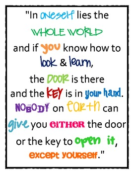 Classroom Quote Posters (2)