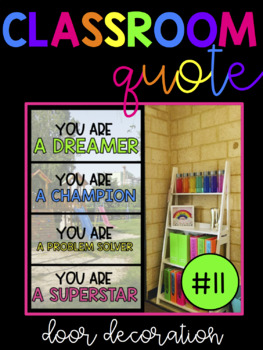 Classroom Quote! We are/ You are pack!