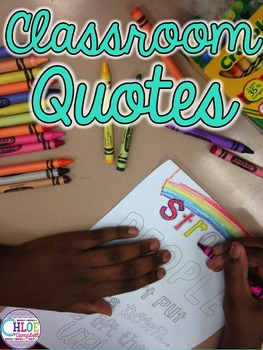 Back to School Classroom Decor Quotes
