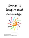 Classroom Quotes