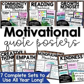 Classroom Quotes Bundle