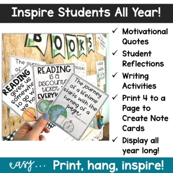 Inspirational Quotes Printables | Classroom Posters