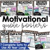 Inspirational Classroom Posters | Motivational Quotes | Classroom Decor