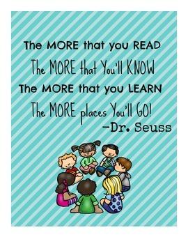 Classroom Quotes- DR. SEUSS