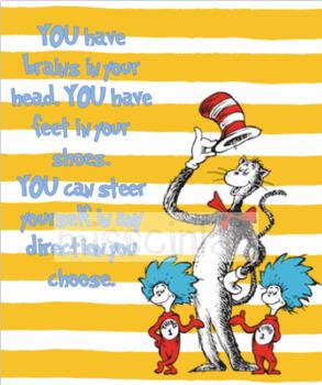 Classroom Decor - Dr Seuss
