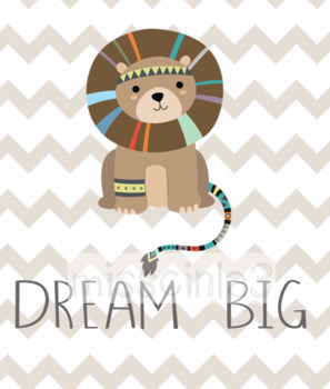"#ausbts18 Classroom Decor - ""Dream Big"""