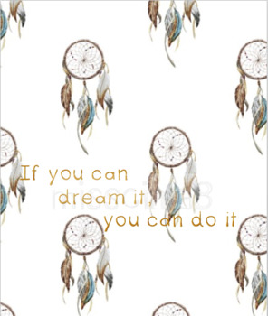 Classroom Decor - If You Can Dream It, You Can Do It