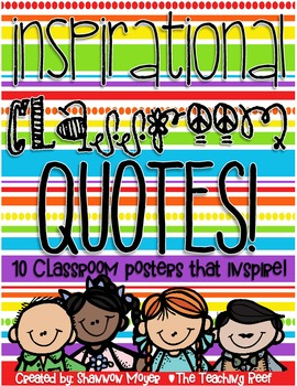 Classroom Quotes To Inspire!