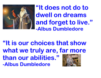 Classroom Quotes from Dumbledore