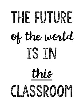 Classroom Quotes to Inspire