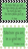 Classroom Quotes/Posters
