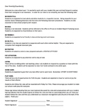 Classroom RULES Parent & Student Signature Page English/Spanish