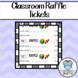 Classroom Raffle Tickets