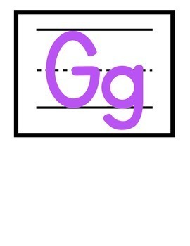Classroom Rainbow Alphabet Cards {White Series}