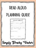 Classroom Read Aloud Planning Guide