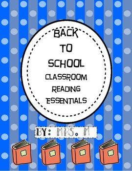 Classroom Reading Essentials