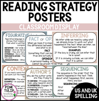 Classroom Reading Groups Posters - Happy Kids Theme