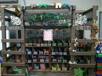 Classroom Reading Loft Idea