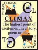 Classroom Reading Poster:  Climax