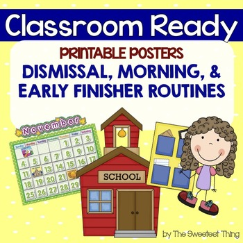 Printable Classroom Posters