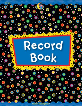 Classroom Record Book - Poppin' Patterns