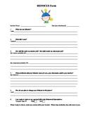 Classroom Refocus Form