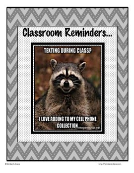 Classroom Meme Posters