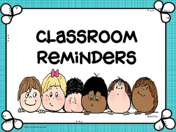Classroom Reminders